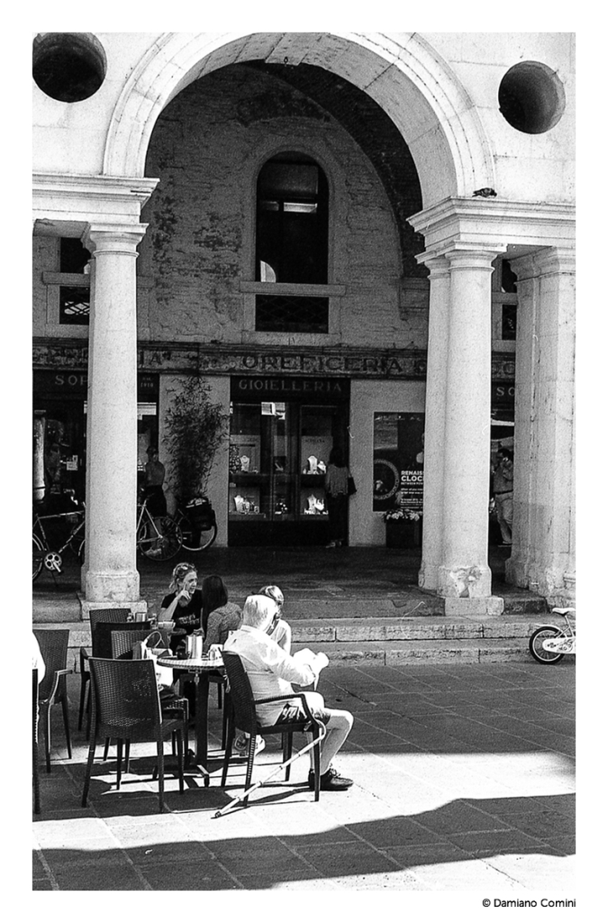 Serliana and espresso- Leica M6 - 50 Summicron - Kodak Tri-X 400 ISO - © 2015 Damiano Comini